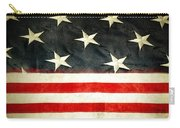 Usa Stars And Stripes Carry-all Pouch by Les Cunliffe