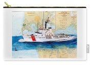 Uscg Alert Coast Guard Chart Map Art Peek Carry-all Pouch