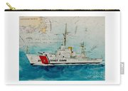 Uscgc Bibb Nautical Chart Cathy Peek Carry-all Pouch