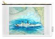 Uscgc Sherman Nautical Chart Cathy Peek Carry-all Pouch