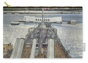 Uss Arizona Memorial-pearl Harbor V4 Carry-all Pouch