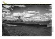 Uss Bowfin-black And White Carry-all Pouch