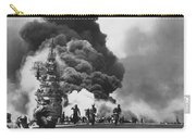 Uss Bunker Hill Kamikaze Attack  Carry-all Pouch