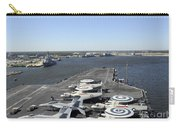 Uss Enterprise Arrives At Naval Station Carry-all Pouch