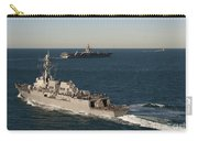 Uss James E. Williams Is Underway Carry-all Pouch