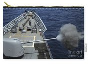 Uss Philippine Sea Fires Its Mk 45 Carry-all Pouch by Stocktrek Images
