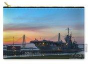 Uss Yorktown Sunset Carry-all Pouch