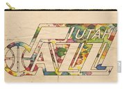 Utah Jazz Retro Poster Carry-all Pouch