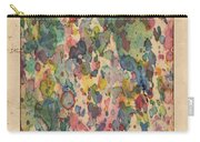 Utah Map Vintage Watercolor Carry-all Pouch
