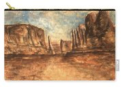 Utah Red Rocks - Landscape Art Carry-all Pouch