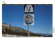 Utah Scenic Highway 12 In Snow Carry-all Pouch