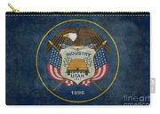 Utah State Flag Vintage Version Carry-all Pouch
