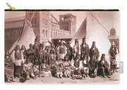 Ute Indians Denver Exposition Carry-all Pouch