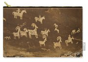 Ute Petroglyphs Arches National Park Utah Carry-all Pouch