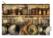 Utensils - Old Country Kitchen Carry-all Pouch by Mike Savad