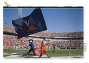 Uva Virginia Cavaliers Football Touchdown Celebration Carry-all Pouch by Jason O Watson