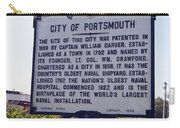 Va-q8i City Of Portsmouth Carry-all Pouch