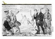 Vaccination Cartoon, 1808 Carry-all Pouch