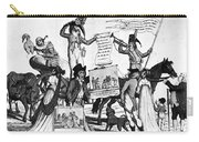 Vaccination Cartoon, C1800 Carry-all Pouch