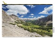 Val Badia From Gardena Pass Carry-all Pouch