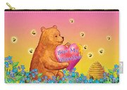 Valentine Baby Bear Carry-all Pouch