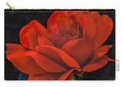 Valentine Rose Carry-all Pouch by Robert Bales