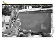 Valeria Butzloff Statue Black And White Carry-all Pouch