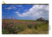 Valerian By A Stone Wall On The Northumberland Coast Carry-all Pouch