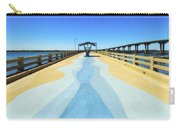 Valero Beach Fishing Pier Carry-all Pouch