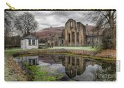Valle Crucis Abbey Carry-all Pouch by Adrian Evans