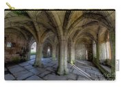 Valle Crucis Chapter House  Carry-all Pouch by Adrian Evans