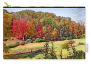 Valley Farm In The Fall Carry-all Pouch