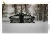 Valley Forge Cabin In Winter Carry-all Pouch