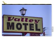 Valley Motel Carry-all Pouch