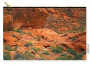 Valley Of Fire Red Sandstone Cliffs Carry-all Pouch