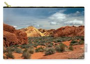 Valley Of Fire Carry-all Pouch by Robert Bales