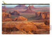 Valley Of Monuments At Dawn Carry-all Pouch