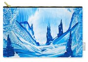 Valley Of The Castles Painting Carry-all Pouch