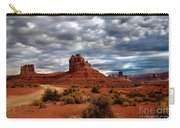 Valley Of The Gods Stormy Clouds Carry-all Pouch