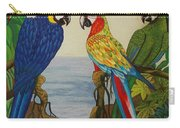Valley Of The Wings Hand Embroidery Carry-all Pouch