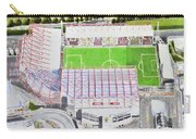 Valley Parade Stadia Art - Bradford City Fc Carry-all Pouch