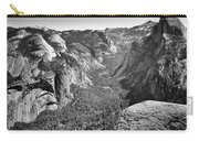 Valley View At Glacier Point Carry-all Pouch