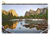 Vally View Panorama - Yosemite Valley. Carry-all Pouch