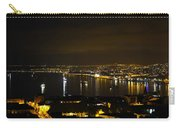 Valparaiso Harbor At Night Carry-all Pouch