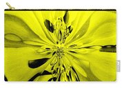 Values In Yellow Carry-all Pouch