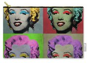 Vampire Marilyn Set Of 4 Carry-all Pouch