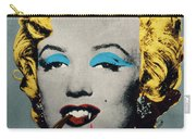 Vampire Marilyn With Surreal Pipe Carry-all Pouch