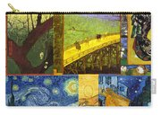 Van Gogh Collage Carry-all Pouch