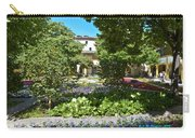 Van Gogh - Courtyard In Arles Carry-all Pouch