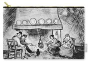 Fireplace, 1889 Carry-all Pouch